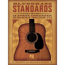 "Hal Leonard Bluegrass Standards - 16 Songs Arr. For Solo Guitar In ""Travis Picking"" Style (699760)"