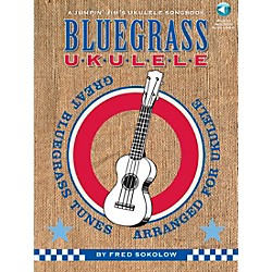 Hal Leonard Bluegrass Ukulele - A Jumpin' Jim's Ukulele Songbook Book/CD (696423)