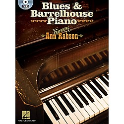 Hal Leonard Blues & Barrelhouse Piano - Book/DVD (312319)