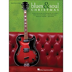 Hal Leonard Blues & Soul Christmas arranged for piano, vocal, and guitar (P/V/G) (311770)