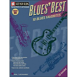 Hal Leonard Blues' Best Volume 30 Book/CD Jazz Play Along For B, E, & C Instruments (843023)