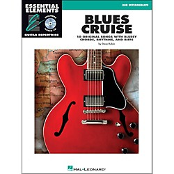 Hal Leonard Blues Cruise Book/CD Mid Intermediate EE Guitar Repertoire (470)
