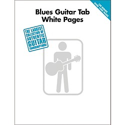 Hal Leonard Blues Guitar Tab White Pages (700131)