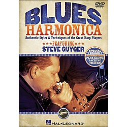 Hal Leonard Blues Harmonica - Authentic Styles & Techniques Of The Great Harp Players (DVD) (320976)