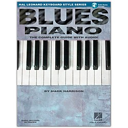 Hal Leonard Blues Piano Keyboard Style Series Book and CD (311007)