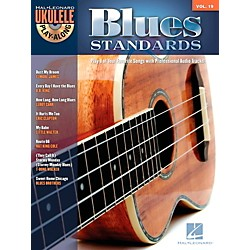 Hal Leonard Blues Standards - Ukulele Play-Along Volume 19 Book/CD (703087)