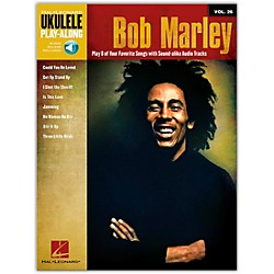 Hal Leonard Bob Marley - Ukulele Play-Along Vol. 26 Book/CD (110399)