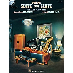 Hal Leonard Bolling Suite For Flute & Jazz Piano Trio with CD Complete Set (672558)