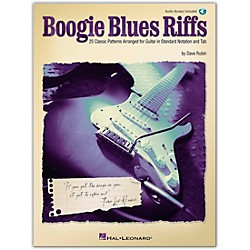 Hal Leonard Boogie Blues Riffs Guitar Tab Book with CD (699621)