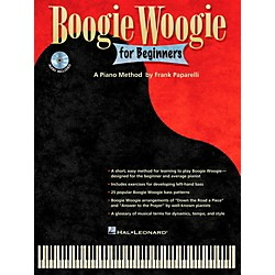 Hal Leonard Boogie Woogie For Beginners - A Piano Method By Frank Paparelli Book/CD (312559)