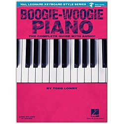 Hal Leonard Boogie-Woogie Piano  The Complete Guide Book/CD from Hal Leonard Keyboard Style Series (117067)