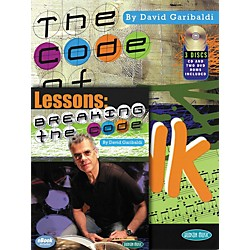 Hal Leonard Breaking The Code - David Garibaldi Book/CD/DVD Combo Pack (320898)