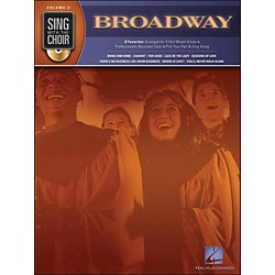 Hal Leonard Broadway - Sing With The Choir Series Volume 2 Book/CD (333002)