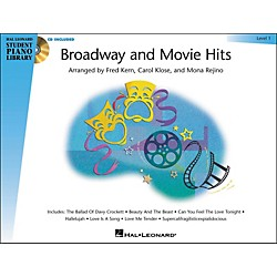 Hal Leonard Broadway And Movie Hits Level 1 Book/CD Hal Leonard Student Piano Library (296606)