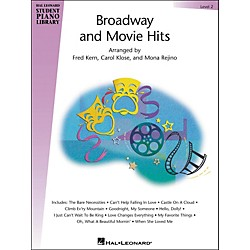 Hal Leonard Broadway And Movie Hits Level 2 Book Hal Leonard Student Piano Library (296607)