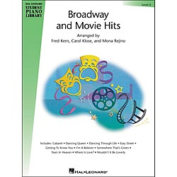 Hal Leonard Broadway And Movie Hits Level 4 Book Hal Leonard Student Piano Library (296609)