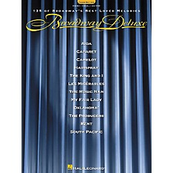Hal Leonard Broadway Deluxe - Third Edition Piano, Vocal, Guitar Songbook (309245)