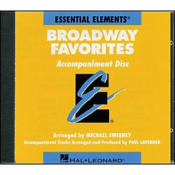 Hal Leonard Broadway Favorites - CD Essential Elements Band CD Accompaniment (860053)