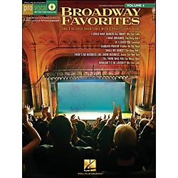 Hal Leonard Broadway Favorites - Pro Vocal Series Volume 4 For Women/Men Book/CD (740408)