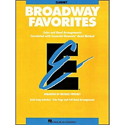 Hal Leonard Broadway Favorites Clarinet Essential Elements Band (860038)