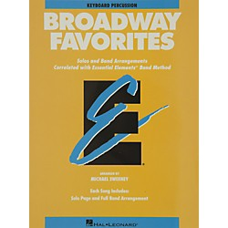 Hal Leonard Broadway Favorites Keyboard Percussion Essential Elements Band (860051)
