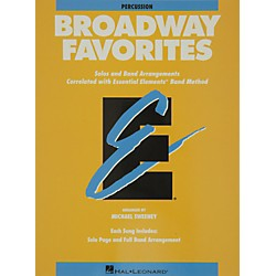 Hal Leonard Broadway Favorites Percussion Essential Elements Band (860050)
