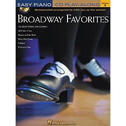 Hal Leonard Broadway Favorites Volume 3 Book/CD Easy Piano CD Play-Along (310915)
