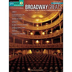 Hal Leonard Broadway Greats - Pro Vocal Songbook & CD For Male Singers Volume 9 (740411)