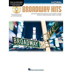 Hal Leonard Broadway Hits For Horn - Instrumental Play-Along Book/CD (842559)
