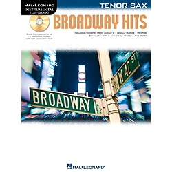 Hal Leonard Broadway Hits For Tenor Sax - Instrumental Play-Along Book/CD (842557)
