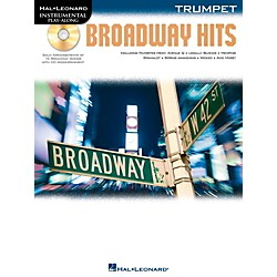 Hal Leonard Broadway Hits For Trumpet - Instrumental Play-Along Book/CD (842558)