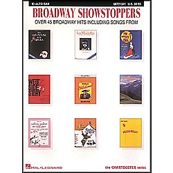 Hal Leonard Broadway Showstoppers For E Flat Alto Saxophone (8721341)