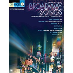 Hal Leonard Broadway Songs - Pro Vocal Series Volume 1 Men's Edition Book/CD (740248)