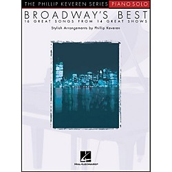 Hal Leonard Broadway's Best - Piano Solo - 16 Great Songs From 14 Great Shows (310669)