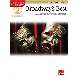 Hal Leonard Broadway's Best For Clarinet Book/CD (841975)