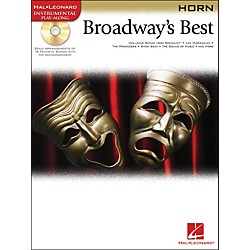 Hal Leonard Broadway's Best For Horn Book/CD (841979)