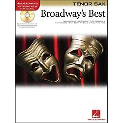 Hal Leonard Broadway's Best For Tenor Sax Book/CD (841977)