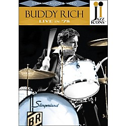 Hal Leonard Buddy Rich Live In '78 DVD Jazz Icons (320618)