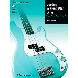 Hal Leonard Building Walking Bass Lines (Book/CD) (695008)