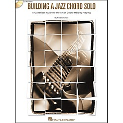 Hal Leonard Building a Jazz Chord Solo - A Guitarist's Guide to the Art of Chord Melody Playing (Book/CD) (695868)