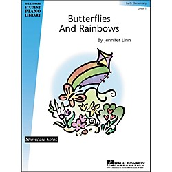 Hal Leonard Butterflies And Rainbows Early Elementary Level 1 Showcase Solos Hal Leonard Student Piano Library (296510)