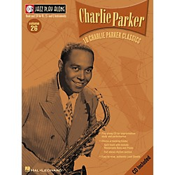 Hal Leonard CHARLIE PARKER - JAZZ PLAY-ALONG VOLUME 26 BK/CD (843019)