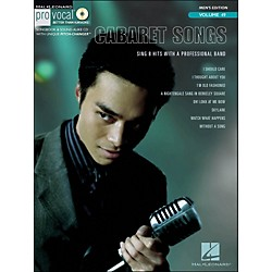 Hal Leonard Cabaret Songs - Pro Vocal Songbook For Male Singers Volume 49 Book/CD (740405)