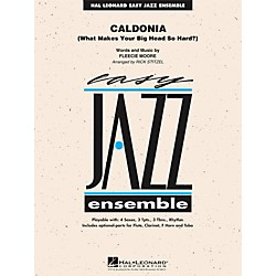 Hal Leonard Caldonia - Easy Jazz Ensemble Series Level 2 (7012199)