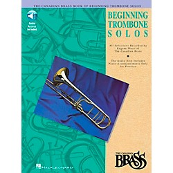 Hal Leonard Canadian Brass Beginning Trombone CD Package (841143)