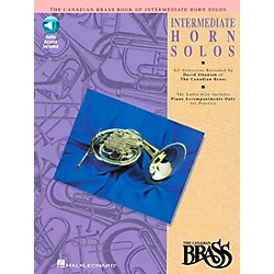 Hal Leonard Canadian Brass Intermediate Horn Solo CD/Pkg (841150)