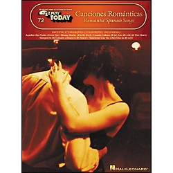 Hal Leonard Canciones Romanticas - Romantic Spanish Songs E-Z Play 72 (100117)