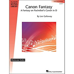 Hal Leonard Canon Fantasy - Fantasy On Pachelbel's Canon In D - Hlspl Showcase Solo Level 5 (296827)