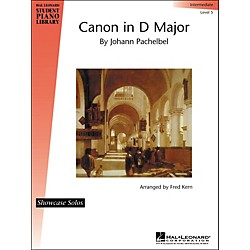 Hal Leonard Canon In D Major By Johann Pachelbel Showcase Solo Intermediate Level 5 Hal Leonard Student Piano Li (296624)