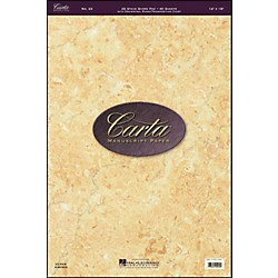 Hal Leonard Carta Manuscript 23 Scorepad 12 X 18, 40 Sheets, 26 Staves (210073)